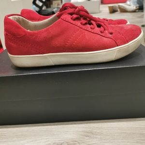 Naturalizer Morrison hot sauce red sneakers .